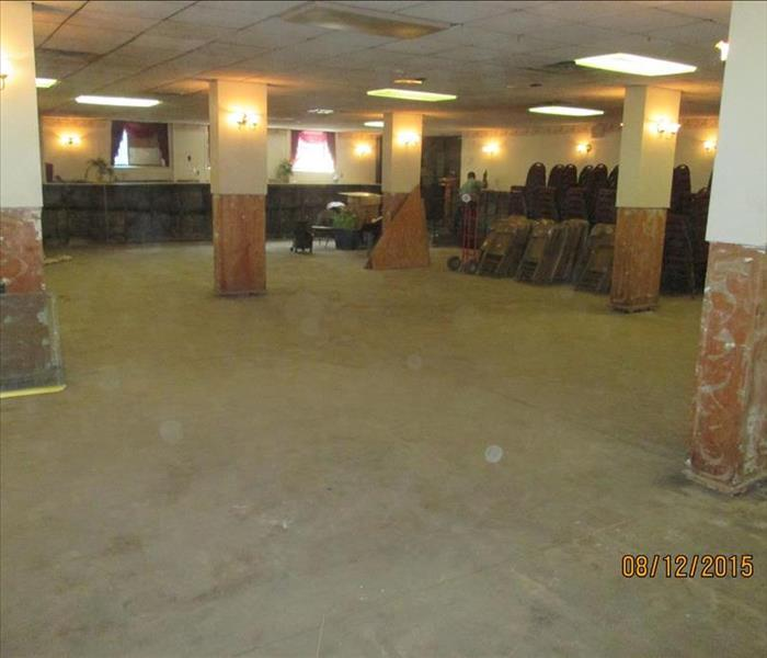 Flooded Church Basement in Philadelphia, PA After